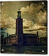 Stadshuset Acrylic Print