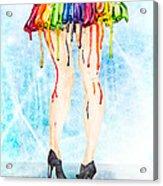 Stage Legs Acrylic Print