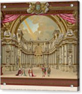 Stage-set Designs For  Productions Acrylic Print