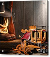 Stagecoach Dream Acrylic Print