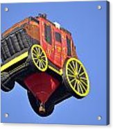 Stagecoach In The Sky Acrylic Print