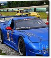 Staging Line At Road America Acrylic Print