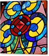 Stain Glass Acrylic Print by Thomas Fouch