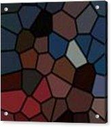 Stain Glass Acrylic Print