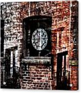 Stained Brick Acrylic Print
