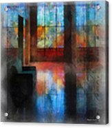 Stained Glass 01 Photo Art Acrylic Print