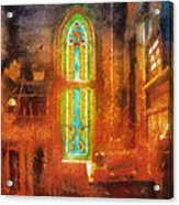 Stained Glass 05 Photo Art Acrylic Print