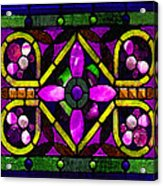 Stained Glass 3 Acrylic Print
