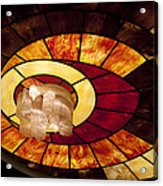 Stained Glass Art Acrylic Print