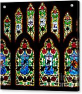 Stained Glass Acrylic Print
