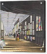 Stained Glass Gallery, From Dickinsons Acrylic Print