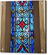 Stained Glass In Redeemer Lutheran Acrylic Print