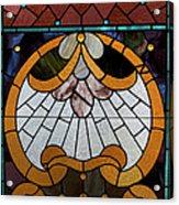 Stained Glass Lc 09 Acrylic Print