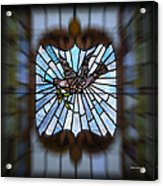 Stained Glass Lc 13 Acrylic Print