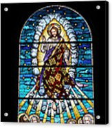 Stained Glass Pc 02 Acrylic Print