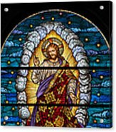 Stained Glass Pc 03 Acrylic Print