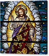 Stained Glass Pc 04 Acrylic Print