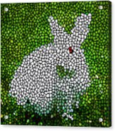 Stained Glass Rabbit Acrylic Print