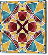 Stained Glass Window 5 Acrylic Print