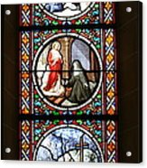 Stained Glass Window Iv Acrylic Print