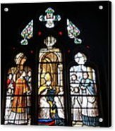 Stained Glass Window V Acrylic Print