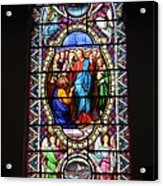 Stained Glass Window Viii Acrylic Print