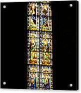 Stained Of Florence Acrylic Print