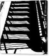 Stair Shadow Acrylic Print
