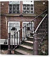 Staircase And Shutters Acrylic Print