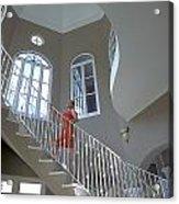 Staircase At Endless Summer Villa Acrylic Print
