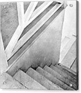 Staircase, Mexico City, C.1924 Acrylic Print
