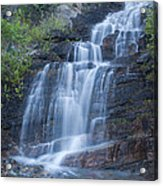Staircase Waterfall Acrylic Print