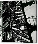 Stairs And Shadows Acrylic Print