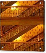 Stairs At The Brown Palace Acrylic Print