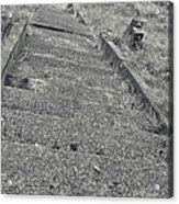 Stairs In The Cemetary Acrylic Print