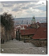 Stairs To Prague Acrylic Print