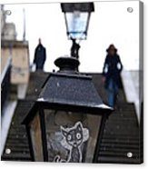 Stairs To Sacre Coeur2 Acrylic Print