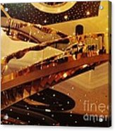 Stairs To The Stars Acrylic Print