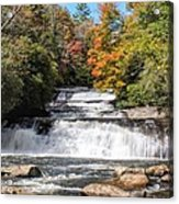 Stairway Falls Acrylic Print