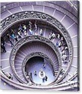 Stairway In Vatican Museum Acrylic Print