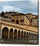 Stairway To Assissi Acrylic Print