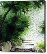Stairway To Heaven... At Nandi Hills Acrylic Print