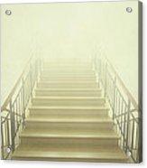 Stairway To Heaven Acrylic Print by Evelina Kremsdorf