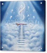 Stairway To Heaven Acrylic Print by Nickie Bradley