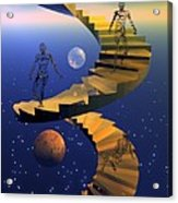 Stairway To Imagination Acrylic Print