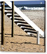 Stairway To Summer  Acrylic Print by A Rey