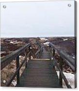 Stairway To The Atlantic Acrylic Print