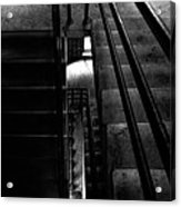 Stairwell Acrylic Print by Bob Orsillo