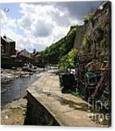 Staithes Harbour Acrylic Print