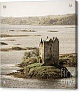Stalker Castle Vintage Acrylic Print